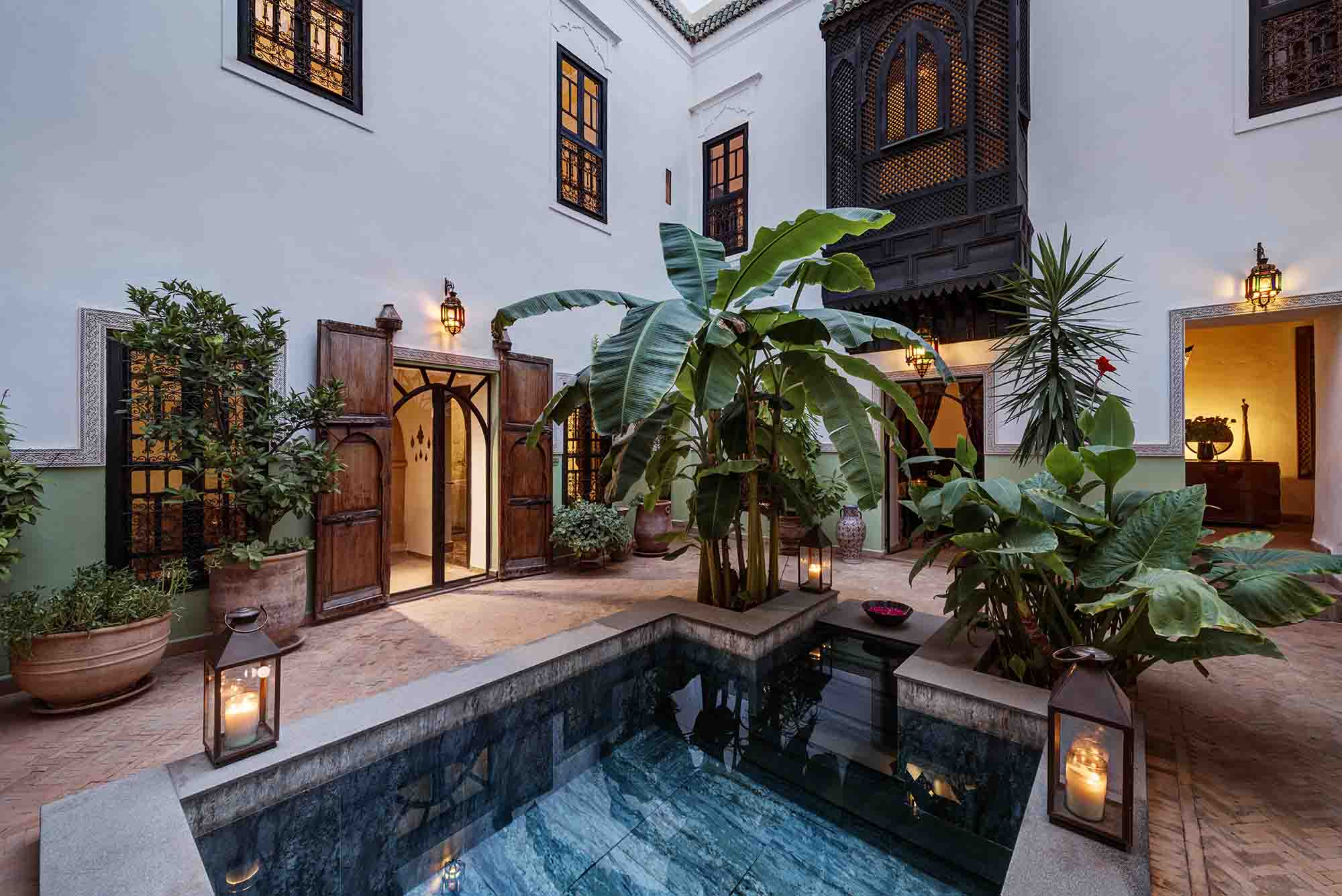 RIAD AZZAR GUEST HOUSE MARRAKECH PATIO