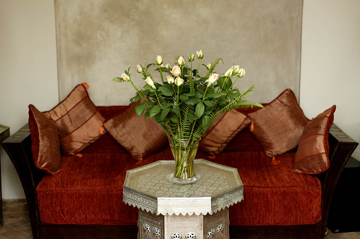 RIAD AZZAR GUEST HOUSE MARRAKECH DECO FLOWER