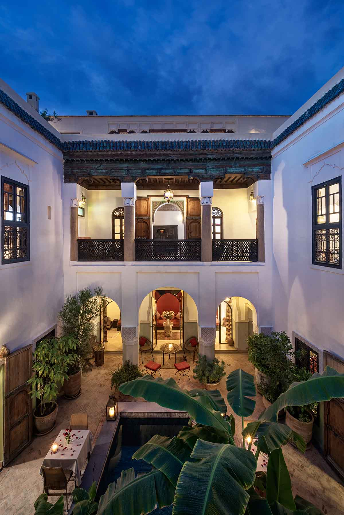 RIAD AZZAR GUEST HOUSE MARRAKECH DININ