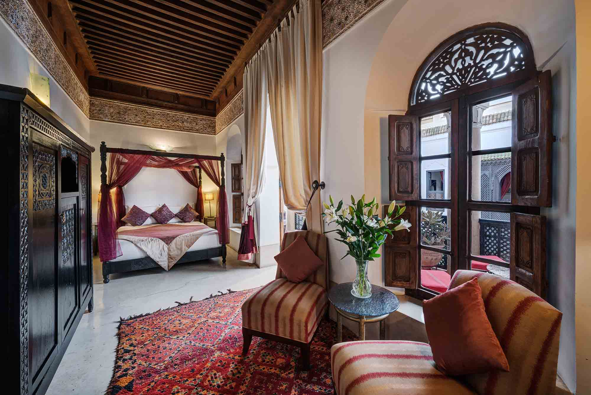 RIAD AZZAR GUEST HOUSE MARRAKECH BEDROOM